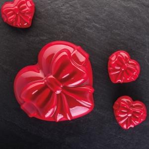 CADEAU PC5030FR Stampo in silicone 12 impronte 7,3x6,6cm H3,6cm Pavoflex 40X30cm Pavoni