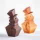 SNOWMAN KT202 Stampo termoformato per cioccolato Kit 2 Pupazzi di neve Pavoni