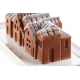 WINTER VILLAGE - KIT STAMPI IN SILICONE 240X100 H 82 MM + PLASTIC SUPPORT