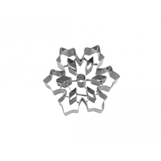 Tagliabiscotto CRISTALLO DI GHIACCIO con inserti in acciaio inox Stadter