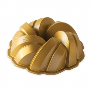 Stampo ANNIVERSARY BRAIDED BUNDT PAN NW95577 12 cups Nordic Ware