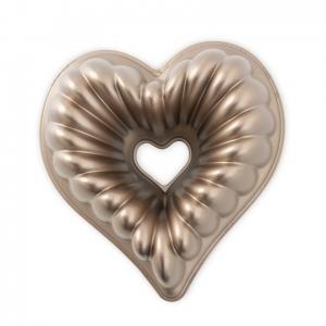 Stampo Elegant Heart Bundt Nordic Ware