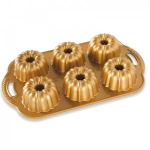 Stampo Mini Ciambelle Bundtlette Gold