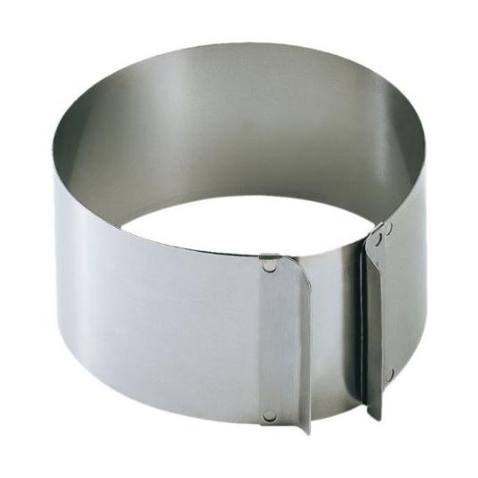 Anello inox cerchio estensibile Ø16,5/32cm H9cm Kaiser