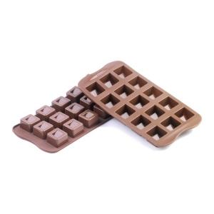 Stampo Silicone Cioccolatini Cubo