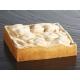 Fascia inox microforata quadrata H3,5cm per crostate Pavoni