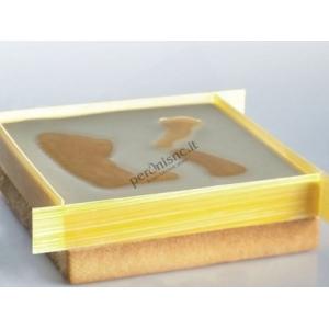 Cornice inox quadrato H2cm Pavoni
