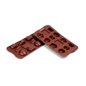 Stampo Silicone Cioccolatini Tea Time