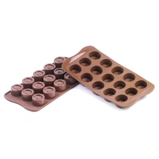 Stampo Silicone Cioccolatini Vertigo