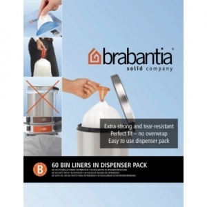 Sacchi Pattumiera Brabantia B - 5 Lt