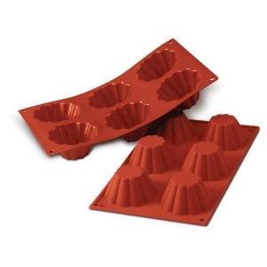 Stampo Silicone Briochette Cannellata Alta