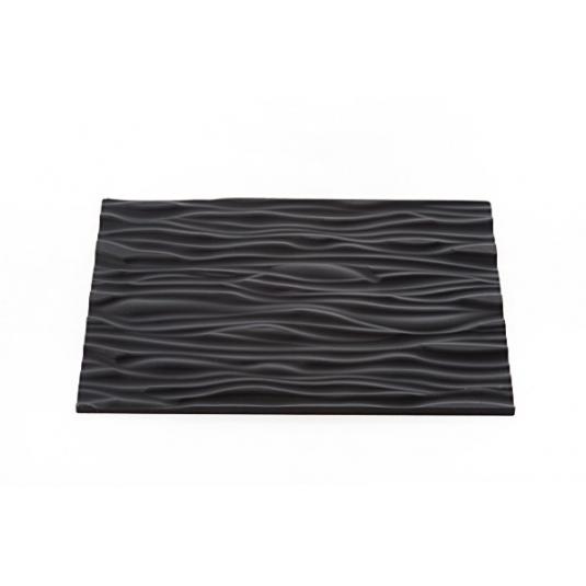 TEX01 WOOD Tappetino in silicone decoro effetto legno 25x18,5cm H0,6cm Silikomart