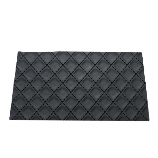 TEX03 MATELASSÈ Tappetino in silicone decoro tessuto imbastito 25x18,5cm H0,6cm Silikomart