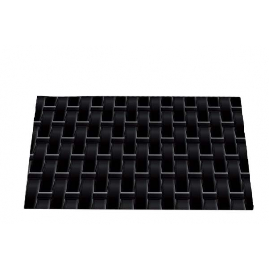 TEX02 VIENNA Tappetino in silicone decoro paglia intrecciata 25x18,5cm H0,6cm Silikomart