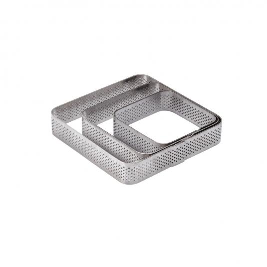 Quadrato Microforato Arrotondato Altezza 2 cm