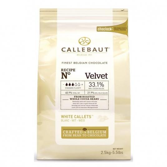 Cioccolato Callebaut Bianco