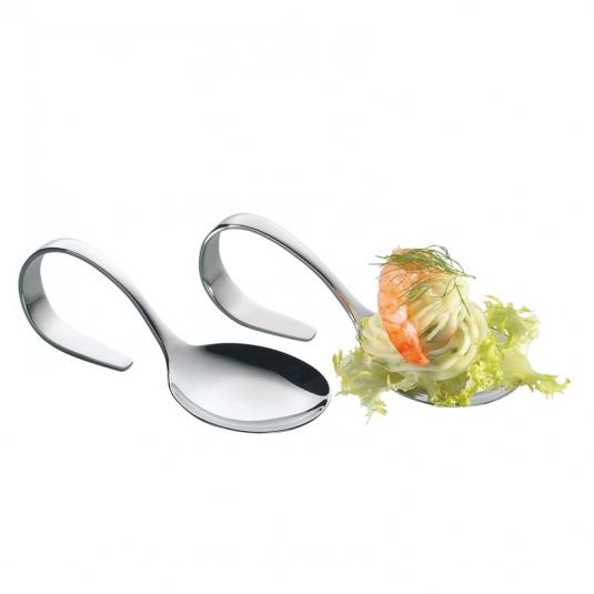 Cucchiai Finger Food Inox (4 pezzi)