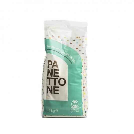 Farina Petra 6384 Panettone sacco 1kg Molino Quaglia