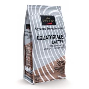 Cioccolato Valrhona Equatoriale Latte 35%