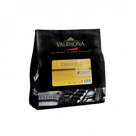 Cioccolato Valrhona Caramelia 36% 1Kg