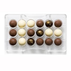 Stampo Cioccolato Semisfere 2,5 cm