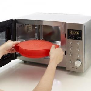 Cuoci omelette rotondo in silicone Ø25 cm per microonde Lékué