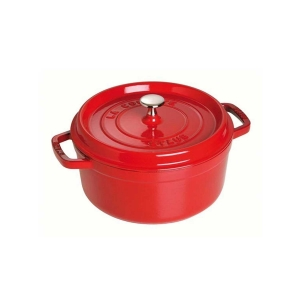 Cocotte Tonda 24 cm Rossa