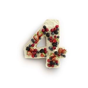 Stampo Torta Numero 4