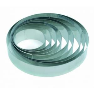 Anello Inox Altezza 4 cm Pavoni