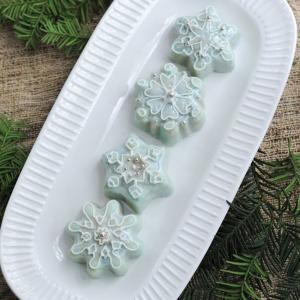 Stampo Frozen Snowflake Cakelet Pan