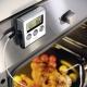 Termometro digitale magnetico inox con timer e sonda Gefu