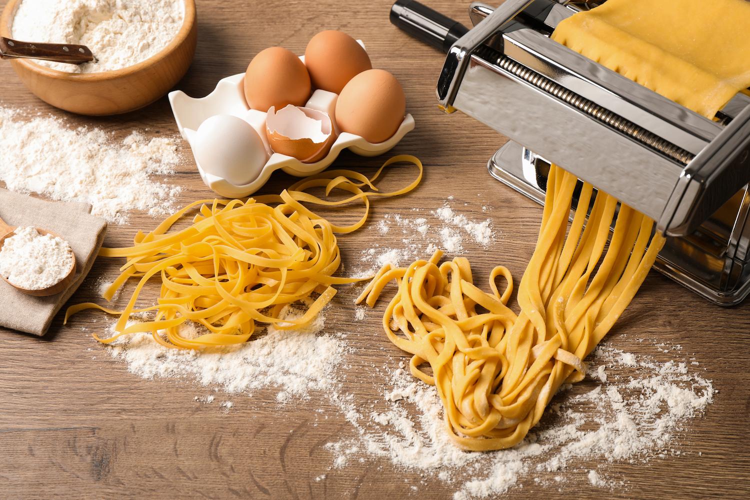 La pasta fatta in casa: un prontuario per l'ultimo minuto