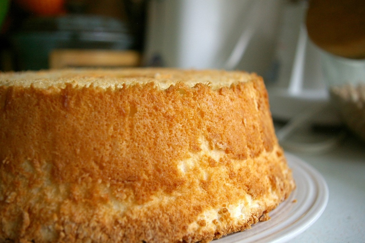 lo stampo giusto per la chiffon cake e per l'angel food cake